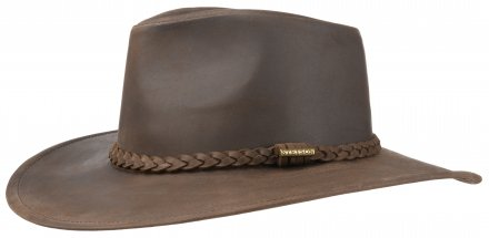 Hüte - Stetson Farwell Leather (braun)