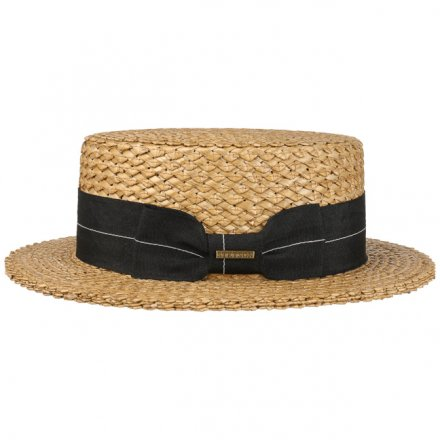 Hüte - Stetson Boater Vintage Wheat (natur)
