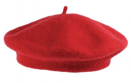 Baskenmütze - Wool Fashion Beret (rot)