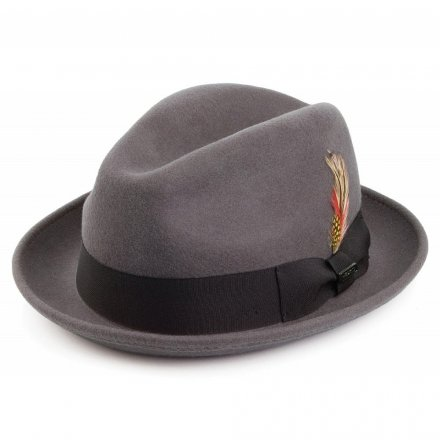 Hüte - Crushable Blues Trilby (grau)