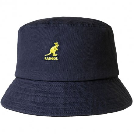 Hüte - Kangol Washed Bucket (marineblau)