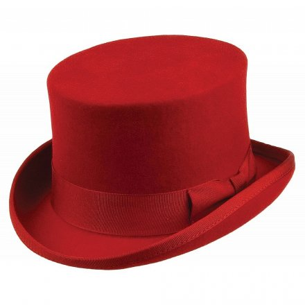 Hüte - Mid-Crown Top Hat (rot)