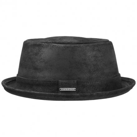 Hüte - Stetson Hobbs Leather (schwarz)