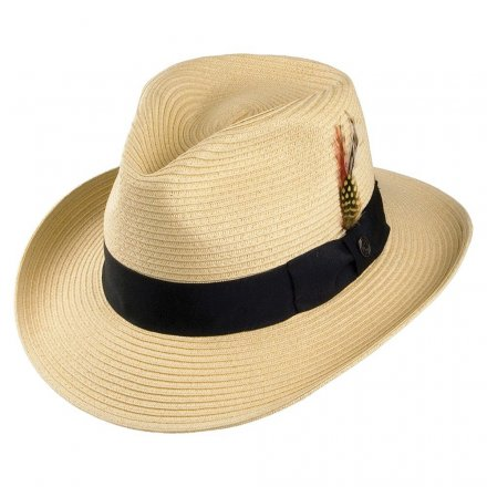 Hüte - Summer C-Crown Fedora (natur)