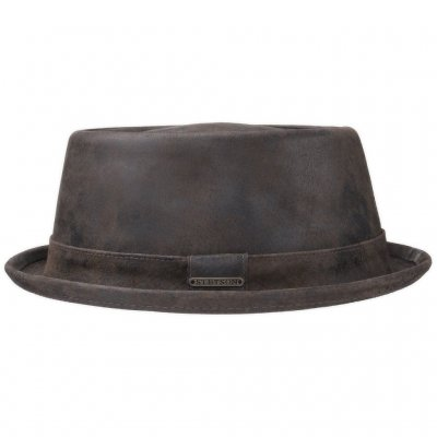 Hüte - Stetson Hobbs Leather (braun)