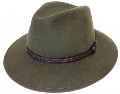 Hüte - Faustmann Lavello Pinch Crown (khaki)