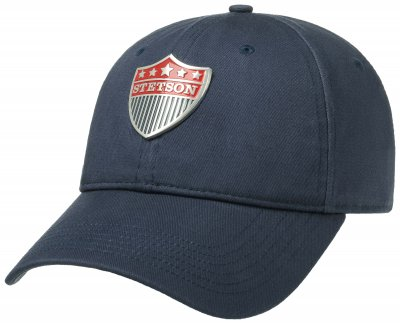 Caps - Stetson Baseball Cap Cotton (blau)