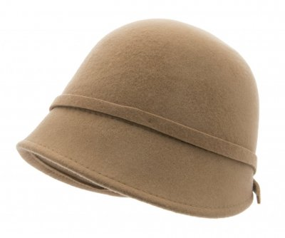 Hüte - CTH Ericson Analise Cloche (camel)