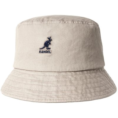 Hüte - Kangol Washed Bucket (khaki)