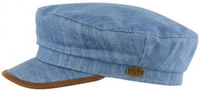 Fiddler cap - MJM Marines Cotton (blau)