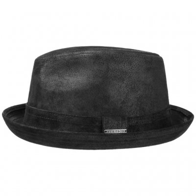 Hüte - Stetson Radcliff Leather (schwarz)