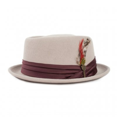Hats - Brixton Stout (light tan/brown)