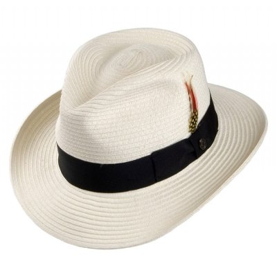 Hüte - Summer C-Crown Fedora (weiß)