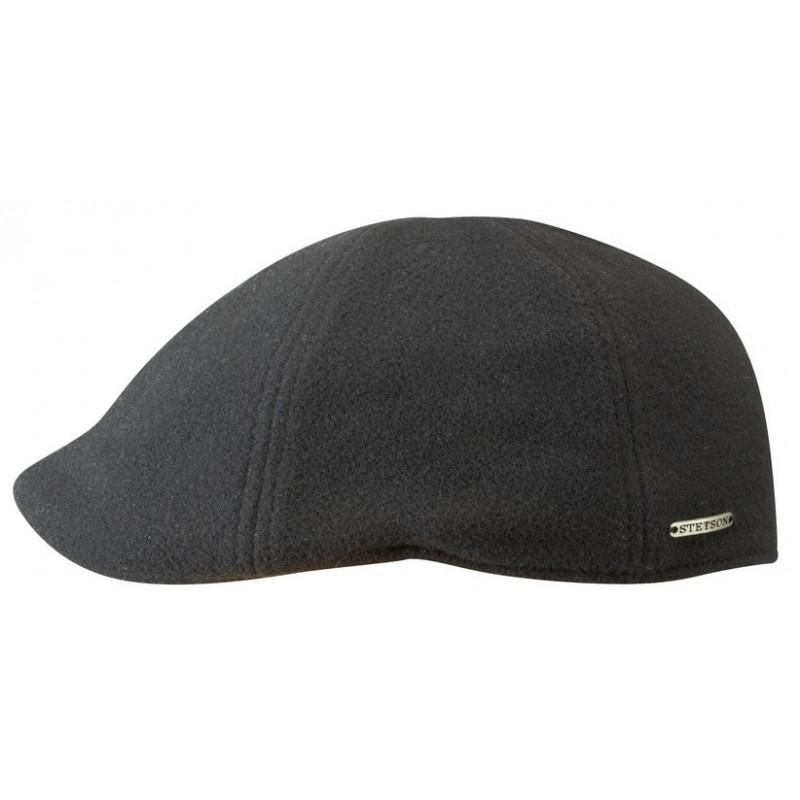 STETSON Texas Embossed Flatcap Baumwollcap Schirmmütze Schiebermütze